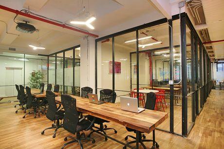 Mo hinh van phong Co-working Space len ngoi tai Ha Noi - Anh 1