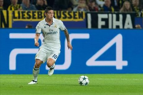 Hoa that vong, Real Madrid con mat luon ca James Rodriguez - Anh 1