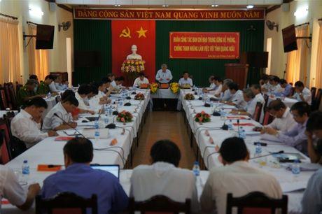 Trien khai Ke hoach phong chong tham nhung tai Quang Ngai - Anh 1