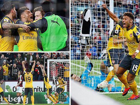 DIEM NHAN Burnley 0-1 Arsenal: Phao thu tang qua Wenger, Oezil van thieu on dinh - Anh 5