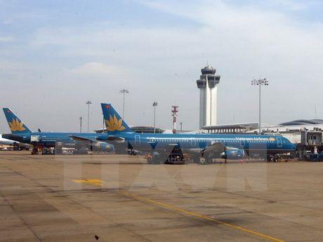 Vietnam Airlines dieu chinh lich bay di Busan do anh huong bao - Anh 1