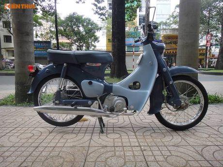 'Thuoc doc' Honda Super Cub C100 doi dau, sieu hiem tai VN - Anh 2