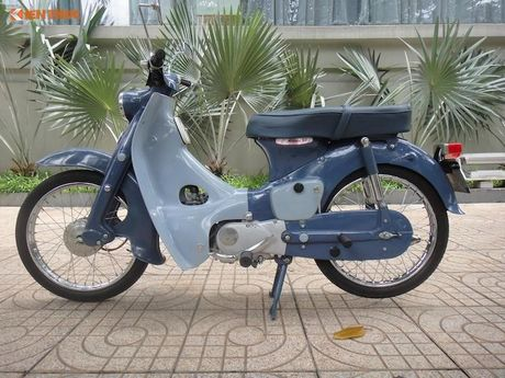 'Thuoc doc' Honda Super Cub C100 doi dau, sieu hiem tai VN - Anh 3