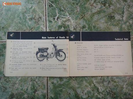 'Thuoc doc' Honda Super Cub C100 doi dau, sieu hiem tai VN - Anh 6