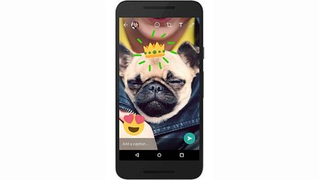 WhatsApp cap nhat tinh nang camera moi tren phien ban Android - Anh 1