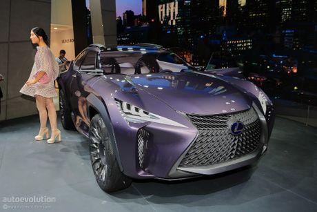Lexus UX Concept gay bat ngo tai trien lam - Anh 1