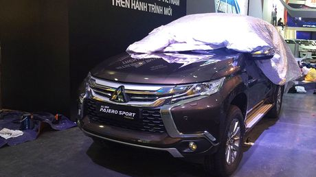 "Mitsubishi Pajero Sport lo ""anh nong"" tai Ha Noi - Anh 1"