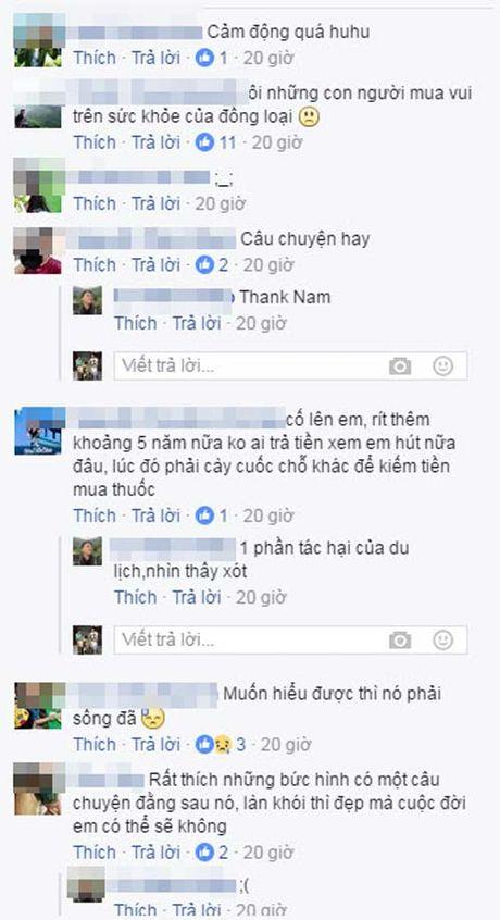 Cau be 10 tuoi o Sapa bieu dien hut thuoc lao nghi ngut khoi de kiem tien - Anh 3