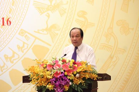 Bo truong Mai Tien Dung: 'Khong co chuyen bao che cho Trinh Xuan Thanh bo tron' - Anh 1
