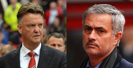 Su khac biet ro nhat giua Mourinho va Van Gaal - Anh 1