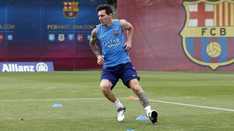 Barcelona nhan tin cuc vui tu Messi - Anh 1