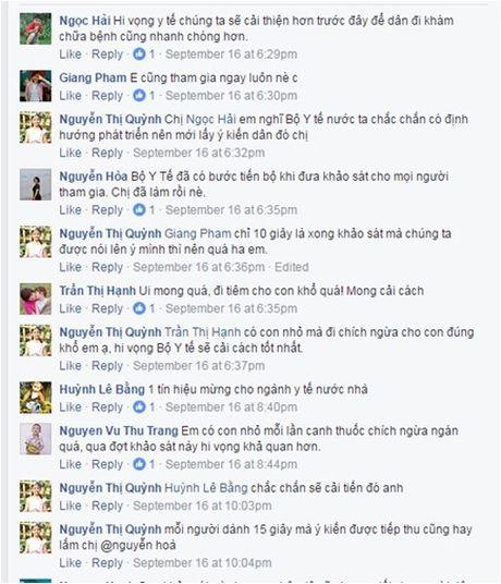 4.000 luot nguoi tham gia khao sat, lay y kien cua Bo Y te qua Zalo - Anh 3