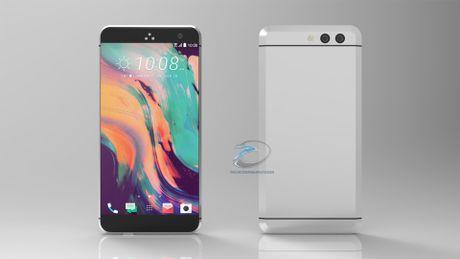 Smartphone khong nut bam cua HTC ro ri hinh anh - Anh 1