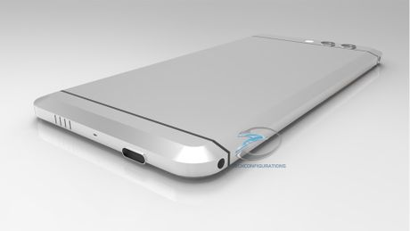 Smartphone khong nut bam cua HTC ro ri hinh anh - Anh 3
