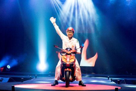 Honda Viet Nam xuat xuong chiec xe may thu 20 trieu - Anh 1