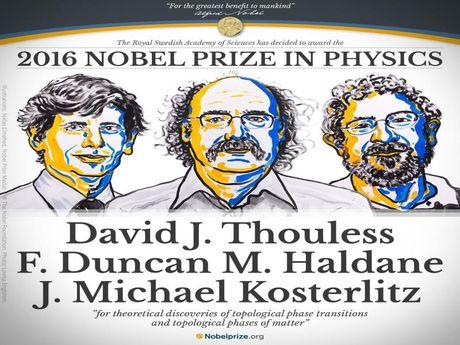 Bo ba nguoi Anh doat giai Nobel vat ly 2016 - Anh 1