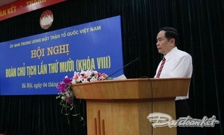 Hoi nghi Doan Chu tich lan thu 10 khoa VIII - Anh 1