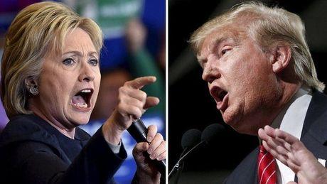 Mac ong Trump gay on ao, ba Clinton lang le but pha - Anh 1
