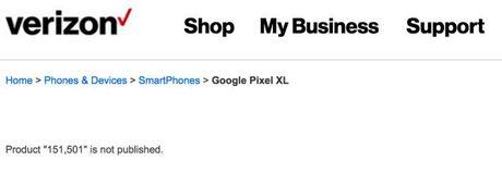 Nha mang Verizon tiep tuc de lo thong tin cua Google Pixel ngay truoc gio G - Anh 2