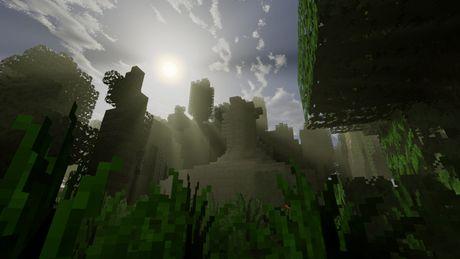 Mot nguoi dan ong da danh tron 5 nam de xay dung ca the gioi trong game Minecraft - Anh 11