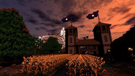 Mot nguoi dan ong da danh tron 5 nam de xay dung ca the gioi trong game Minecraft - Anh 13