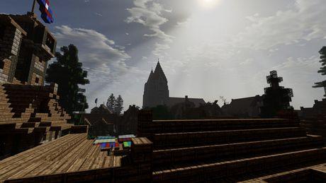 Mot nguoi dan ong da danh tron 5 nam de xay dung ca the gioi trong game Minecraft - Anh 14