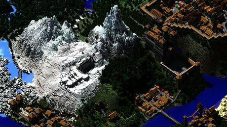 Mot nguoi dan ong da danh tron 5 nam de xay dung ca the gioi trong game Minecraft - Anh 18