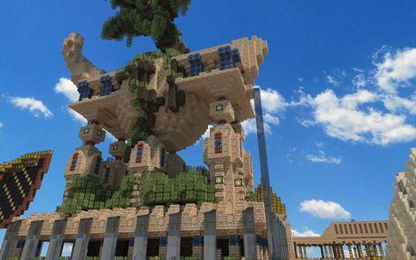 Mot nguoi dan ong da danh tron 5 nam de xay dung ca the gioi trong game Minecraft - Anh 20
