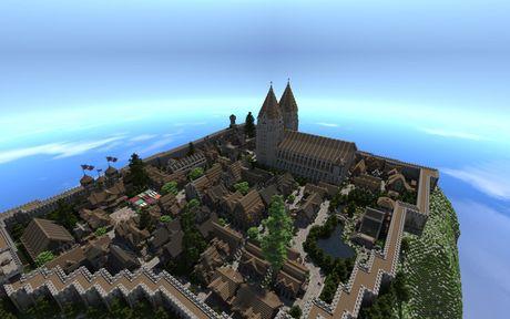 Mot nguoi dan ong da danh tron 5 nam de xay dung ca the gioi trong game Minecraft - Anh 21