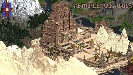 Mot nguoi dan ong da danh tron 5 nam de xay dung ca the gioi trong game Minecraft - Anh 2