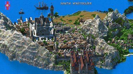 Mot nguoi dan ong da danh tron 5 nam de xay dung ca the gioi trong game Minecraft - Anh 3