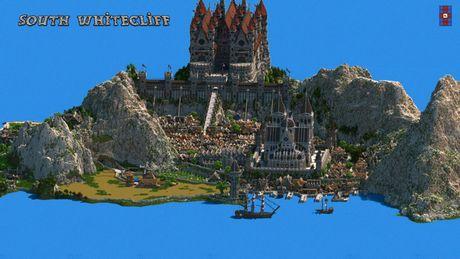 Mot nguoi dan ong da danh tron 5 nam de xay dung ca the gioi trong game Minecraft - Anh 5