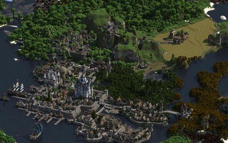 Mot nguoi dan ong da danh tron 5 nam de xay dung ca the gioi trong game Minecraft - Anh 8
