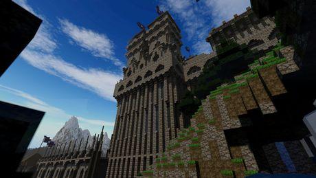 Mot nguoi dan ong da danh tron 5 nam de xay dung ca the gioi trong game Minecraft - Anh 9