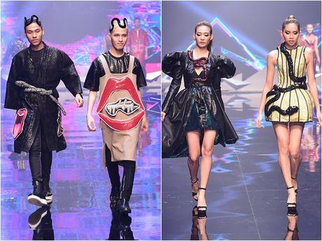 Nhung khoanh khac 'dat gia' trong dem chung ket Vietnam's Next Top Model 2016 - Anh 11