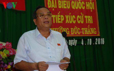 Binh Thuan: Cu tri de nghi tang cuong luc luong dong hanh cung ngu dan - Anh 1