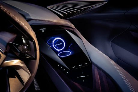 Ngam tron Lexus UX concept thiet ke 3D doc nhat vo nhi - Anh 10