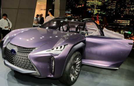 Ngam tron Lexus UX concept thiet ke 3D doc nhat vo nhi - Anh 13