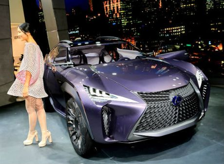 Ngam tron Lexus UX concept thiet ke 3D doc nhat vo nhi - Anh 1