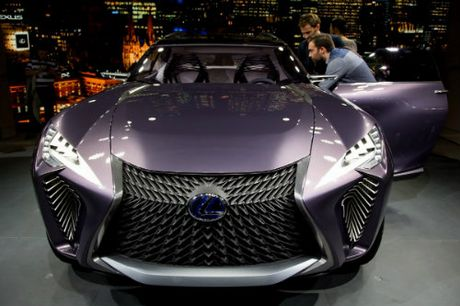 Ngam tron Lexus UX concept thiet ke 3D doc nhat vo nhi - Anh 2