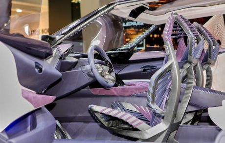 Ngam tron Lexus UX concept thiet ke 3D doc nhat vo nhi - Anh 4
