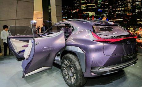 Ngam tron Lexus UX concept thiet ke 3D doc nhat vo nhi - Anh 6