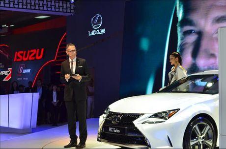Lexus tap trung vao 4 san pham chu chot tai Vietnam Motor Show 2016 - Anh 1