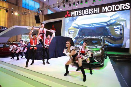Pajero Sport la linh hon cua gian hang Mitsubishi tai trien lam VMS 2016 - Anh 2