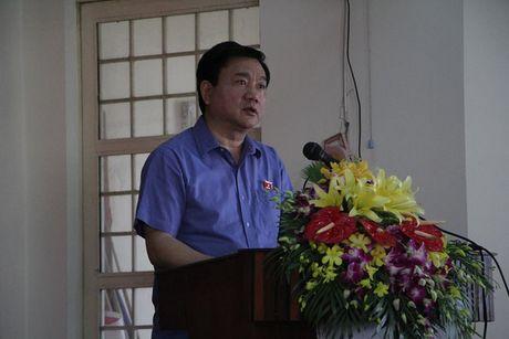 Bi thu Dinh La Thang tra loi cu tri ve vu an Trinh Xuan Thanh - Anh 1