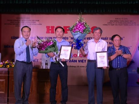 63 nguoi duoc binh chon la nong dan Viet Nam xuat sac nam 2016 - Anh 1