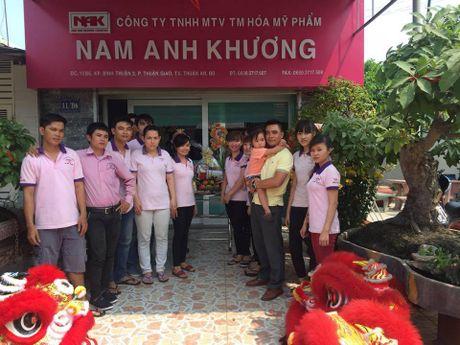 Phat hien them san pham chua chat cam do Hoa my pham Nam Anh Khuong phan phoi - Anh 1