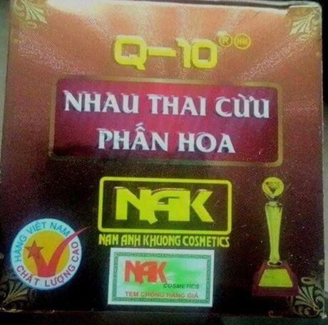 Phat hien them san pham chua chat cam do Hoa my pham Nam Anh Khuong phan phoi - Anh 4