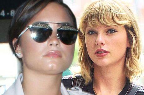Demi Lovato khong tiec loi chi trich Taylor Swift - Anh 1