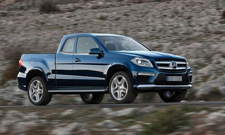 Mercedes Benz sap tung xe ban tai hang sang ra thi truong - Anh 1